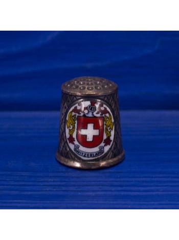 Сувенирный наперсток из Швейцарии