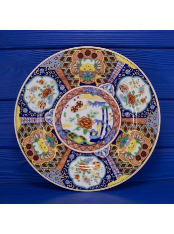 Тарелка в стиле Imari из Японии