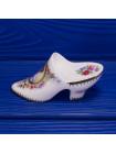 Винтажная фарфоровая туфелька на каблуке от Royal Worcester
