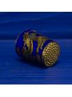 Сувенирный наперсток с драконом из Китая, выполненный в технике перегородчатая эмаль