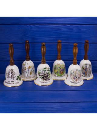 """Колокольчик Royal Grafton с деревянной ручкой  """"12 барабанщиков"""""""