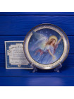 "Декоративная тарелка №1861A ""On Heavenly Wings"" из коллекционной серии Angelic Visions от Lenox"