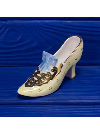 Винтажная фарфоровая туфелька на каблучке от Royal Worcester