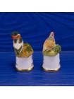 """Пара наперстков """"Shelduck и Partridge"""" серии BIRDS of BRITAIN от Sutherland"""