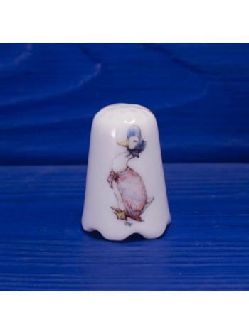 Коллекционный наперсток Jemma Puddle Duck с волнистым ободком от Reutter Porzellan