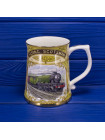 Пивная кружка, ограниченной серии, выпущенной в честь 75 годовщины первого безостановочного пробега из Лондона в Эдинбург