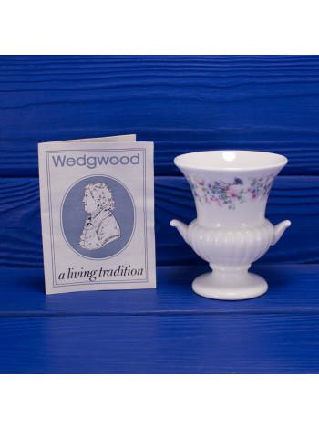 Миниатюрная ваза с ручками Wedgwood дизайн Angela с сертификатом и оригинальной коробочкой
