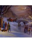 """Тарелка W.S. George номер 7336 С """"Holiday Skaters"""""""