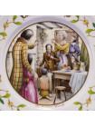 """Тарелка Aynsley """"Cratchit Family 1981"""""""