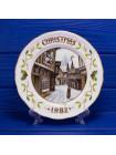 "Тарелка Aynsley ""Christmas Day 1982"""