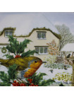 "Тарелка Hammilton Collection номер 0277 ""Christmas Feast"" коллекционной серии Robins Christmas"