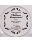 "Тарелка Hammilton Collection номер 0019 с сертификатом ""Christmas Companions"" коллекционной серии Robins Christmas"