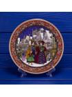 Полный комплект роскошных тарелок Royal Worcester коллекционной серии Christmas Pass