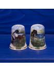 Пара коллекционных наперстков с утками от Birchcroft