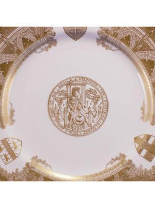 Тарелка от Spode, выпущена к празднованию 900-летнего юбилея основания Вестминстерского аббатства