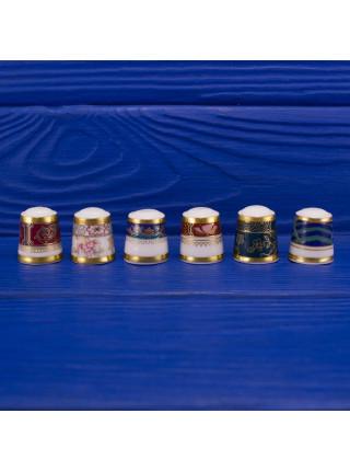 Винтажные наперстки из коллекции The First Royal Doulton Thimble Collection