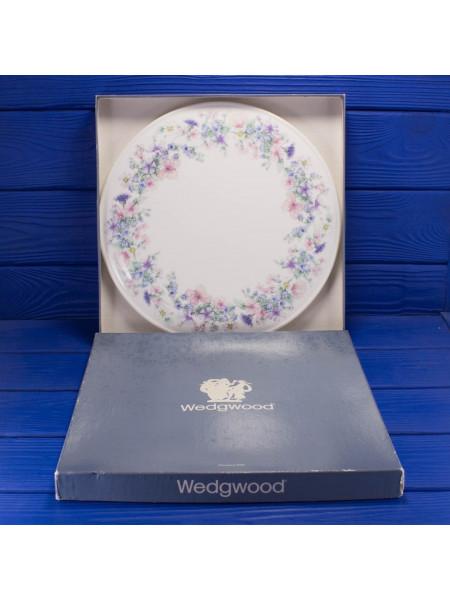 Блюдо для торта дизайна Angela в оригинальной коробке от Wedgwood