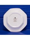 Фарфоровое блюдце геометрической формы для украшений дизайна Angela от Wedgwood