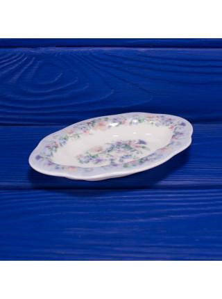 Овальное фарфоровое блюдце для украшений дизайна Angela от Wedgwood
