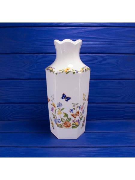 Великолепная большая ваза дизайна Cottage Garden от Aynsley