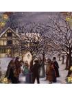 """Тарелка Wedgwood """"Twelfth Night"""" с изображением празднования двенадцатого дня Рождества"""