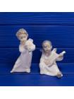 Винтажные фигурки малышей ангелочков ручной работы от Lladro