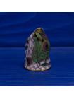 Коллекционный наперсток клуазоне в форме головы кошки