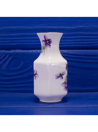 Миниатюрная ваза с фиалками дизайна Wild Violets от Aynsley