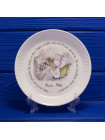 """Коллекционная тарелка """"Mrs. Tiggy-Winkle"""" c ежихой Ухти-Тухти в оригинальной коробочке от Wedgwood"""