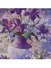 "Тарелка Wedgwood ""Violet Cantata"""