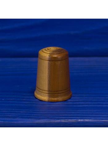 Интересный деревянный наперсток
