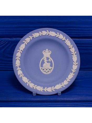 Коллекционная тарелка от Wedgwood  с изображением предположительно эмблемы британской олимпийской ассоциации