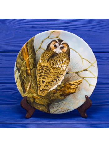 "Тарелка Coalport 9704A ""Tawny Owl"""