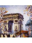 """Тарелка Limoges № AR 150 L """"Arc De Triomphe"""" с сертификатом и брошюрой"""
