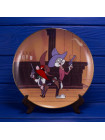 Редкая винтажная декоративная тарелка Wild and Wooly Hare № 1864 серии The Looney Tunes Cartoons Classics
