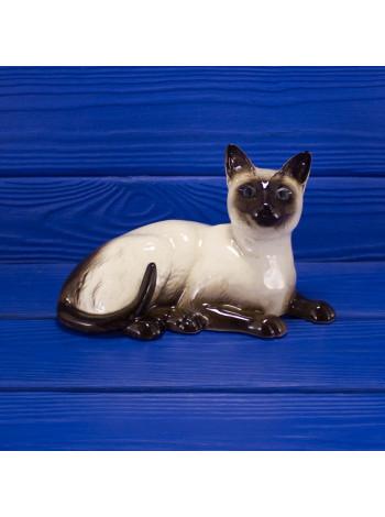 Винтажная фигурка сиамской кошки от Royal Doulton