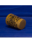 Коллекционный винтажных наперсток с тиграми ограниченной серии из древесины смаковницы