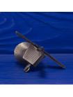 Коллекционный металлический наперсток в форме ветряной мельницы с подвижными крыльями из коллекционной серии The Surprise Collection от Thimble Collectors Club