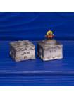 Редкий металлический коллекционный наперсток в форме коробочки с сюрпризом в виде выпрыгивающей фигурки клоуна на пружинке серии The Surprise Collection от Thimble Collectors Club