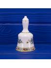 Винтажный фарфоровый колокольчик дизайна Ming Rose от Coalport