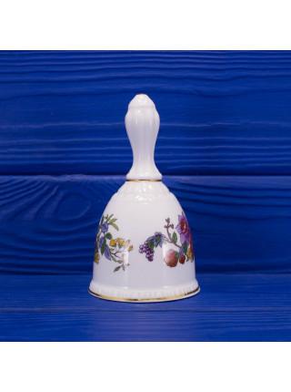 Коллекционный колокольчик из костяного фарфора дизайна Tree of Kashmir от Paragon