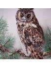 """Декоративная тарелка """"Long-eares Owl"""" с ушастой совой от Limoges"""