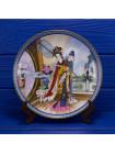 """Винтажная декоративная тарелка """"Yuan-chun"""" из потрясающей коллекционной серии Beauties of the Red Mansion от Imperial Jingdezhen Porcelain"""
