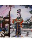 """Винтажная декоративная тарелка """"Hsi-feng"""" из потрясающей коллекционной серии Beauties of the Red Mansion от Imperial Jingdezhen Porcelain"""