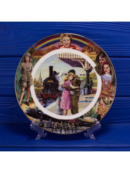 Декоративная тарелка № 1066A Well Meet Again, выпущенная специально для Royal British Legion