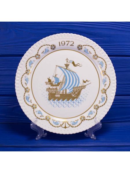 Тарелка Spode Christmas Plate 1972