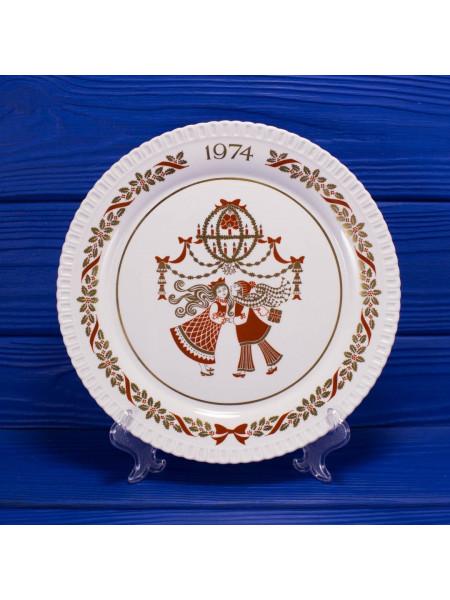Тарелка Spode Christmas Plate 1974
