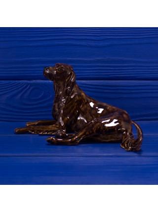 Фарфоровая фигурка собаки породы ирландский сеттер из коллекционной серии The Charm of Creamware от Heredities