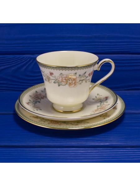 Чайное трио Minton дизайн Jasmine
