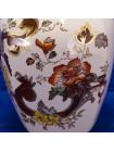 Коллекционная ваза, расписанная вручную, дизайна Brown Velvet от Masons